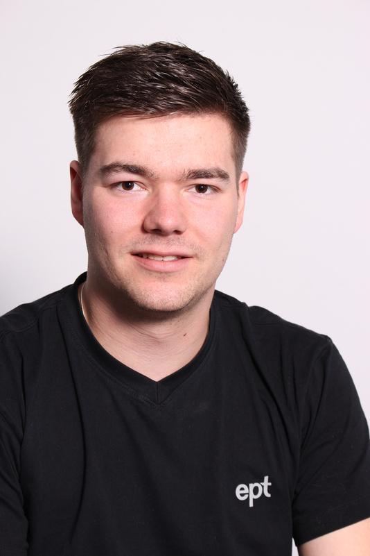 Ausbildungsleiter Tobias Blum