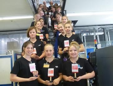 24 Schülerinnen nahmen am Girls'Day in Peiting teil