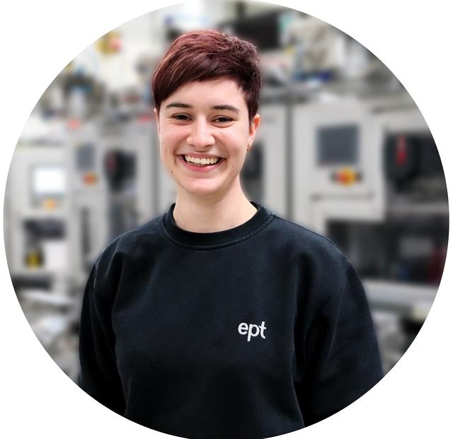 Werkzeugmechanikerin Elisabeth Neuner