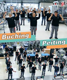 36 Auszubildende starten in Buching und in Peiting in ihre Ausbildung