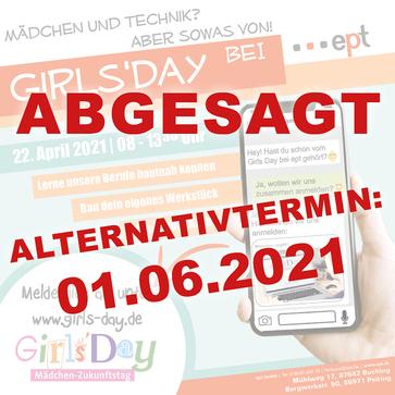 Insta GirlsDay 2021 Absage