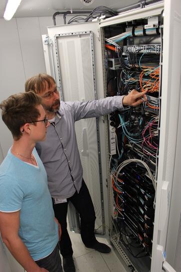 Ausbilder im IT-Ausbildungszentrum